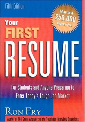 Download Your first resume