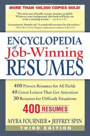 Thumbnail of Encyclopedia of Job-winning Resumes