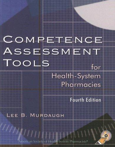 Download Competence Assessment Tools For Health-System Pharmacies