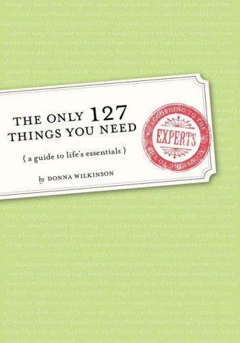 Download The Only 127 Things You Need