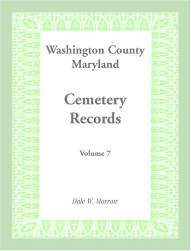 Download Washington County Maryland Cemetery Records