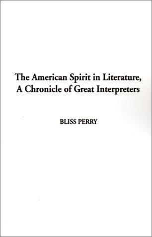 Download American Spirit in Literature