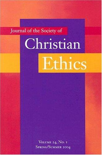 Download Journal of the Society of Christian Ethics