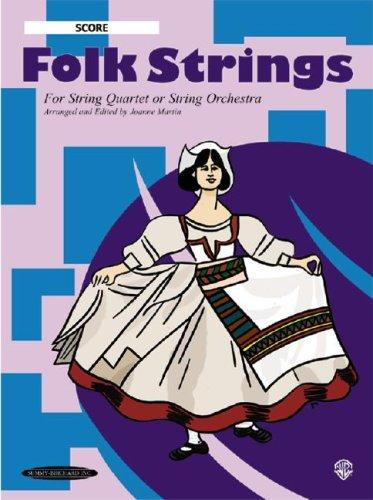 Download Folk Strings for String Quartet or String Orchestra