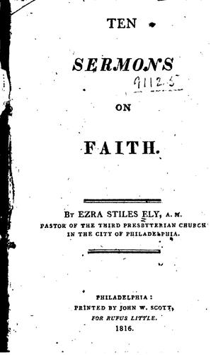 Ten Sermons on Faith