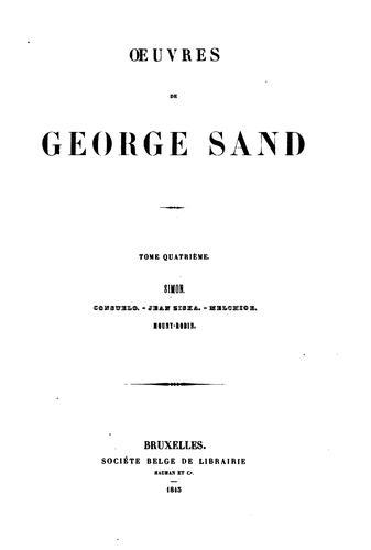 Download Œuvres de George Sand
