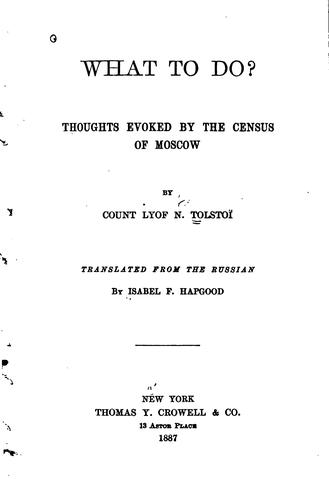 Download What to Do?: Thoughts Evoked by the Census of Moscow