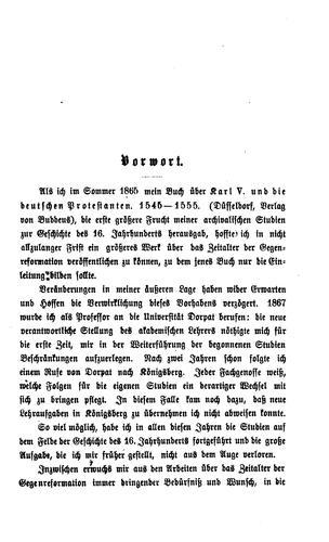 Studien und Skizzen zur Geschichte der Reformationszeit