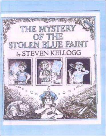 The Mystery of the Stolen Blue Paint