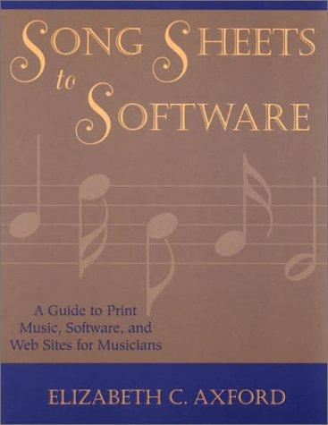 Download Song sheets to software