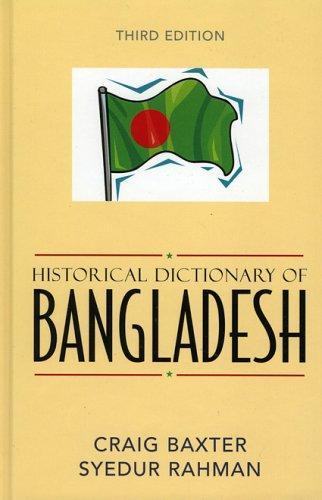 Historical dictionary of Bangladesh