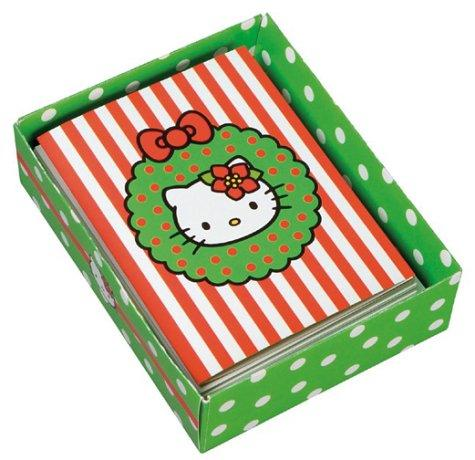 Download Hello Kitty Hello Christmas! Holiday Note Cards