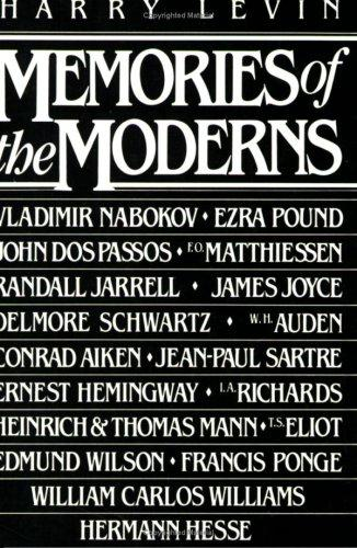 Download Memories of the moderns