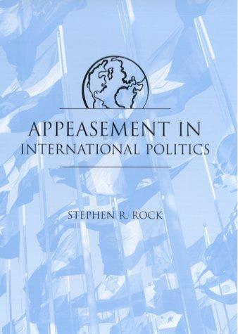 Download Appeasement in International Politics