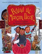 Book  Cover: 'Behind the Museum Door : Poems to Celebrate the Wonders of  Museums      ' by Lee Bennet Hopkins