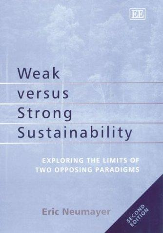 Download Weak Versus Strong Sustainability
