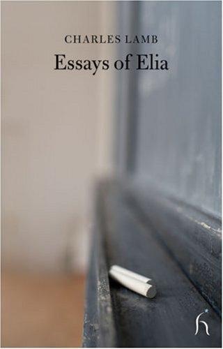 Download Essays of Elia