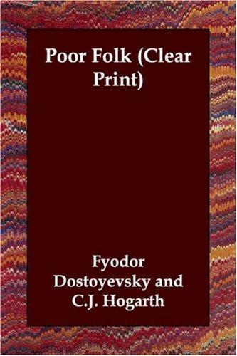 Download Poor Folk (Clear Print)