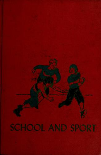 School and sport by Marjorie Barrows