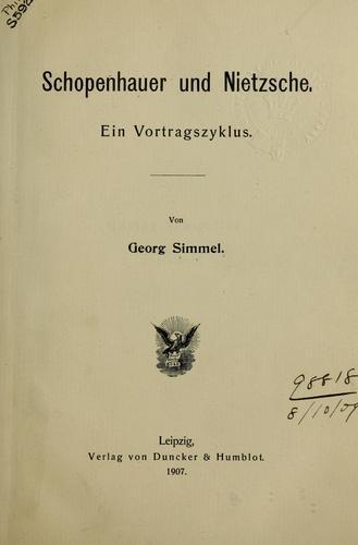 Download Schopenhauer und Nietzsche