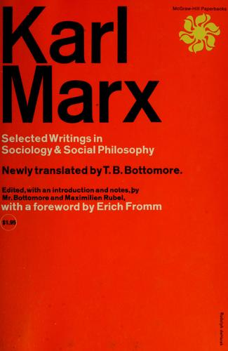 Download Selected writings in sociology & social philosophy.