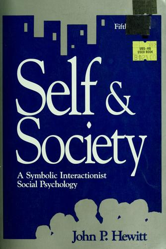 Download Self and society