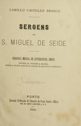 Seroens de S. Miguel de Seide