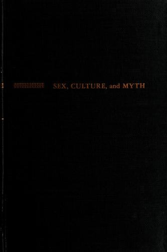 Sex, culture, and myth