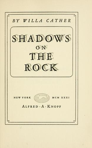 Download Shadows on the rock.