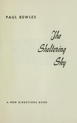 Download The sheltering sky.