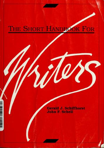 Download The short handbook for writers