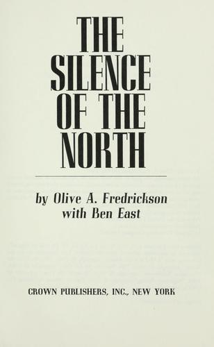 Download The silence of the North