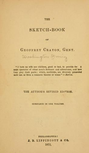 Download The sketch-book of Geoffrey Crayon, gent. pseud….