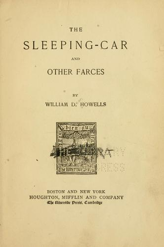 The sleeping-car, and other farces