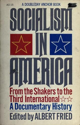 Download Socialism in America: from the Shakers to the Third International