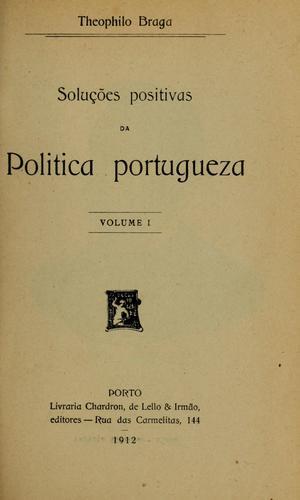 Soluções positivas da politica portugueza
