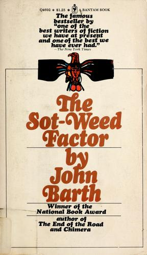 The sot-weed factor.