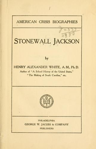 Download Stonewall Jackson