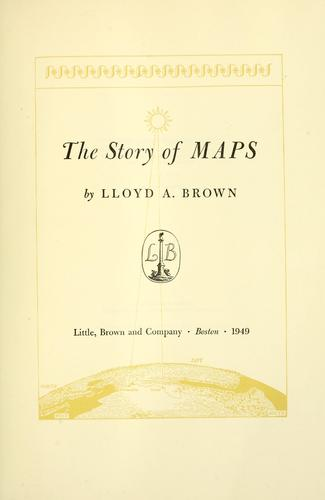 Download The story of maps.