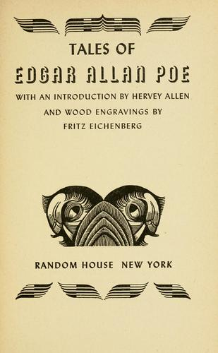 Download Tales of Edgar Allan Poe