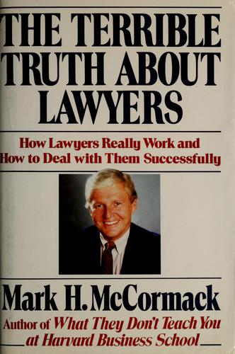 The terrible truth about lawyers