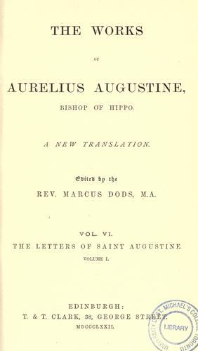 Download The works of Aurelius Augustine, Bishop of Hippo