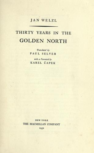Download Thirty years in the golden north
