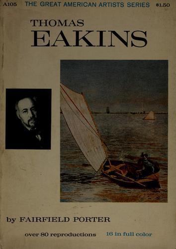 Thomas Eakins.