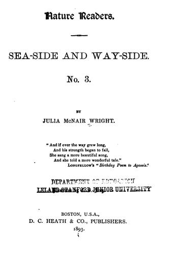 Nature Readers: Sea-side and Way-side. No. 1-4
