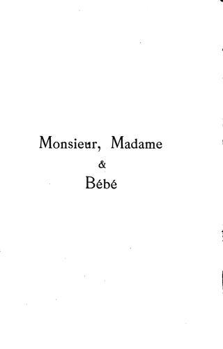Monsieur, madame & bébé