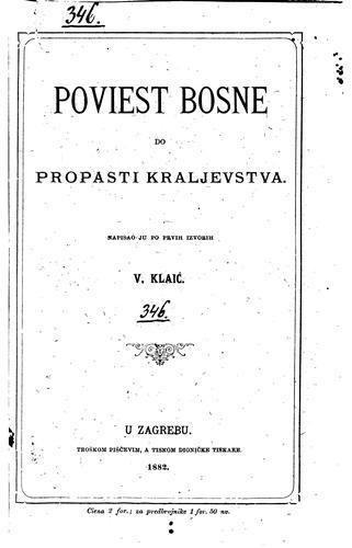 Poviest Bosne do propasti kraljevstva