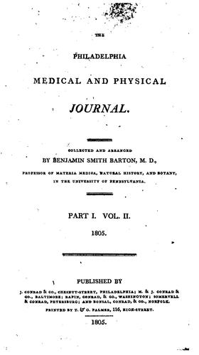 The Philadelphia Medical and Physical Journal