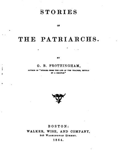 Stories of the Patriarchs