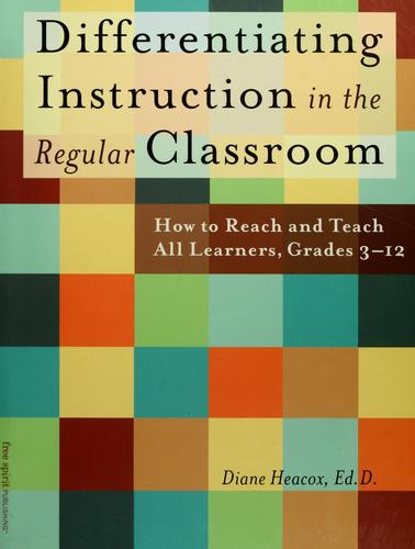 Download Differentiating instruction in the regular classroom